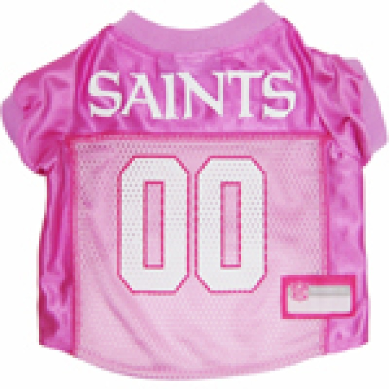 New Orleans Saints Pink Jersey